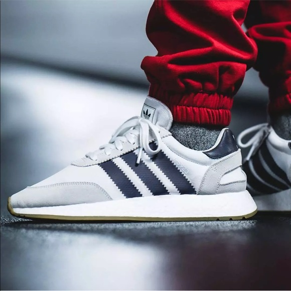 new concept adce3 8a0af adidas Other - Adidas Originals I-5923 Iniki Boost White Navy Gum